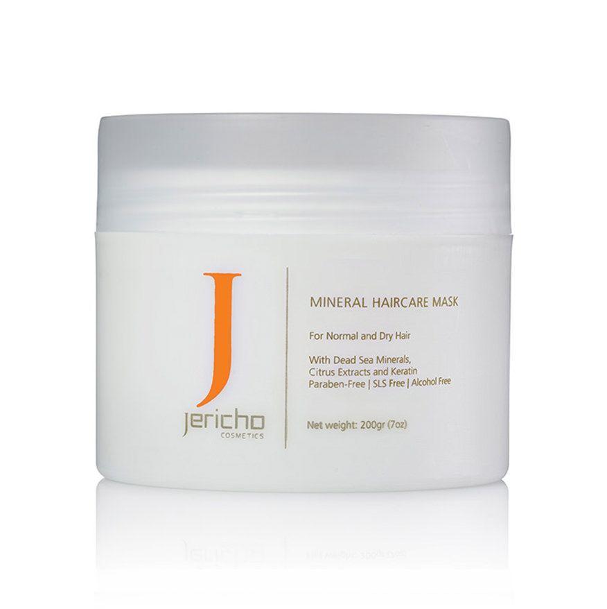 Купить Jericho Маска минеральная для волос с аргановым маслом для всех типов волос 200мл