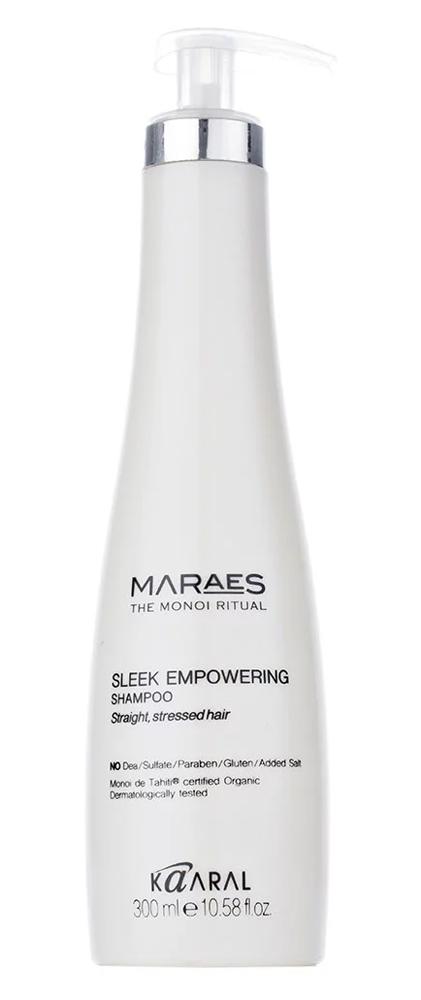 Купить Kaaral Maraes Восстанавливающий шампунь для прямых поврежденных волос 300 мл