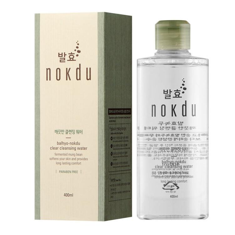 Купить Balhyo Nokdu Clear Cleansing Water Очищающая вода для снятия макияжа 400мл