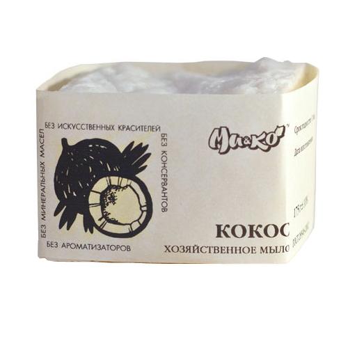 Купить Мико Хозяйственное мыло Чистый кокос 175г, МиКо