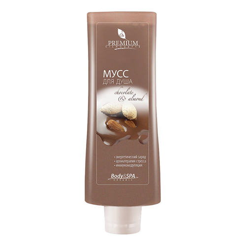 Премиум (Premium) Мусс для душа Chocolate  Almond, 200 мл
