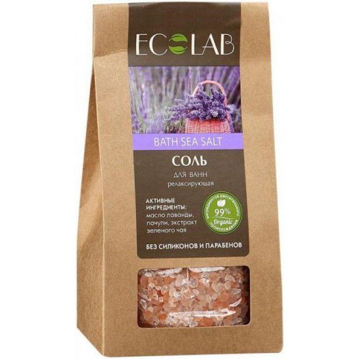 ECOLAB Соль для ванн Релаксирующая 400 g