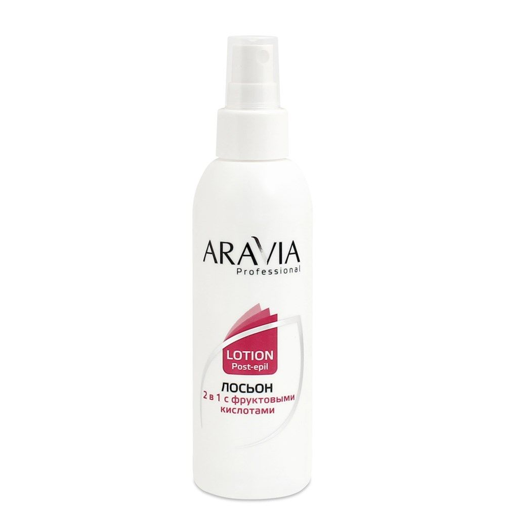 Купить Aravia Лосьон 2 в 1 против вросших волос и для замедления роста волос с фруктовыми кислотами 150мл, Aravia Professional