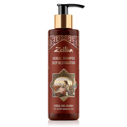 Купить Zeitun Фито-шампунь Глубоко восстанавливающий, для сильно поврежденных волос 200 мл