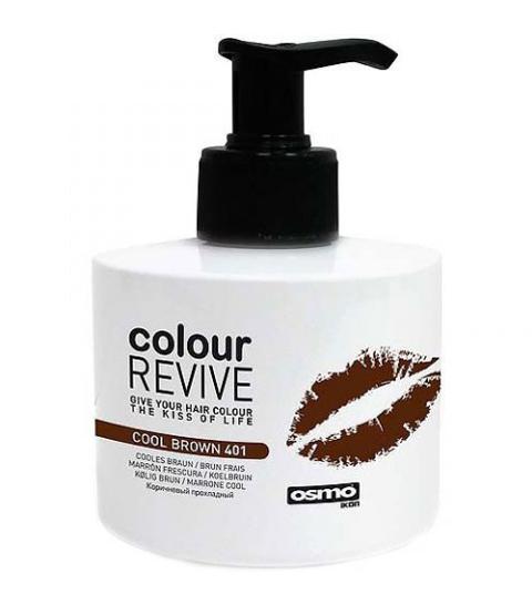 Osmo colour revive cool brown (401) ламинирующий крем-кератин цвет прохладный коричневый 225мл