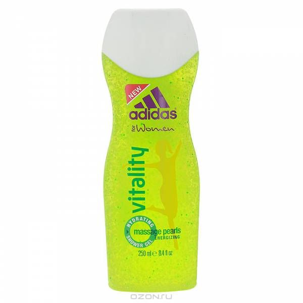 Adidas Vitality гель женский 250мл от Лаборатория Здоровья и Красоты