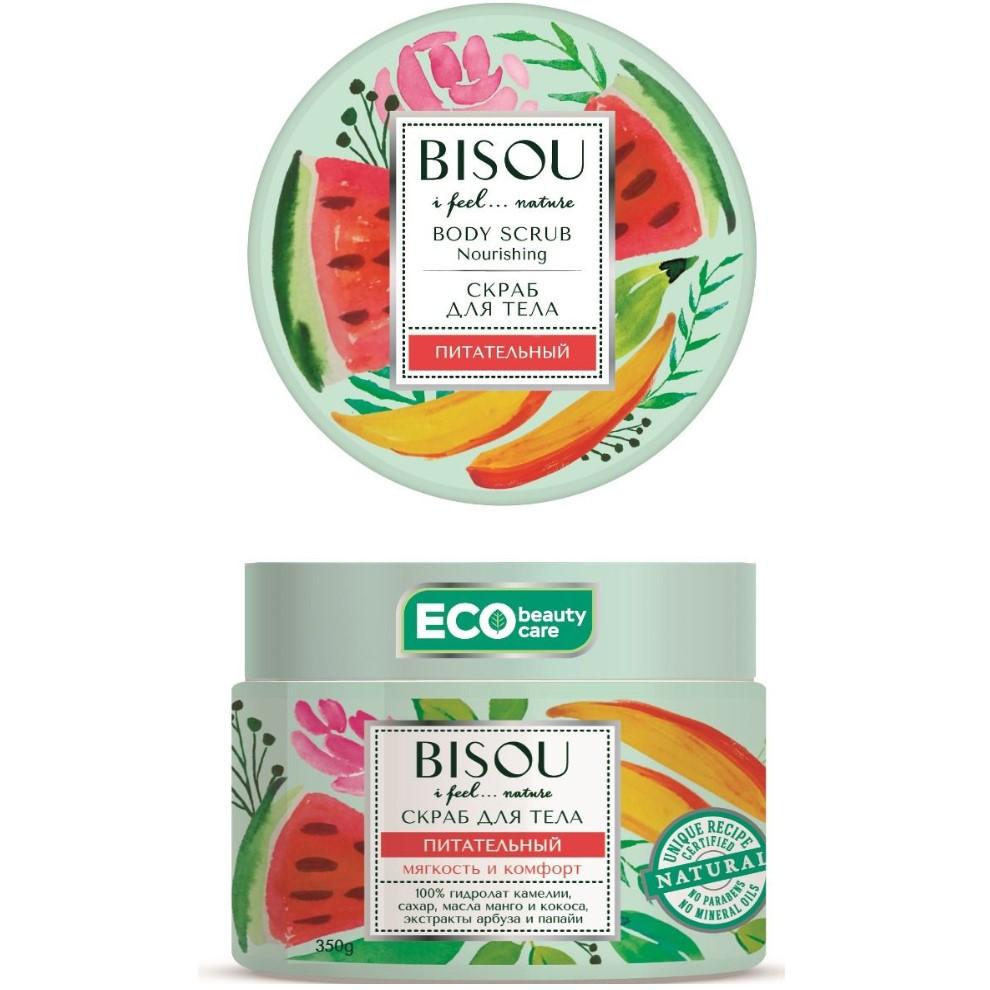 Купить Bisou Скраб для тела питательный арбуз-манго 350г