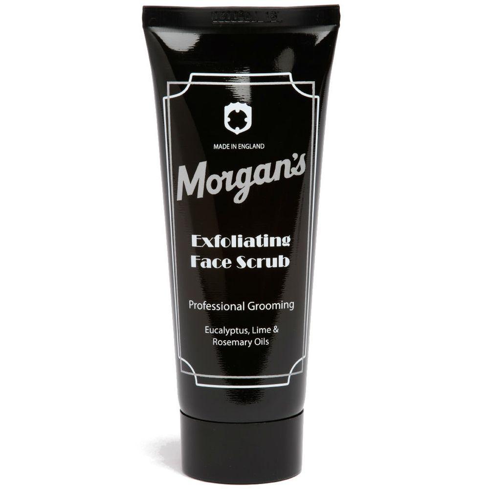Morgans Очищающий скраб для лица 100мл