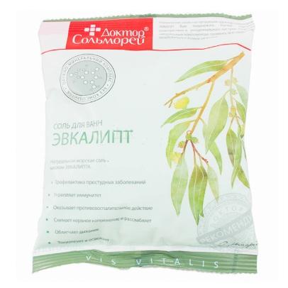 Доктор Сольморей Соль для ванн Эвкалипт 0,5 кг от Лаборатория Здоровья и Красоты