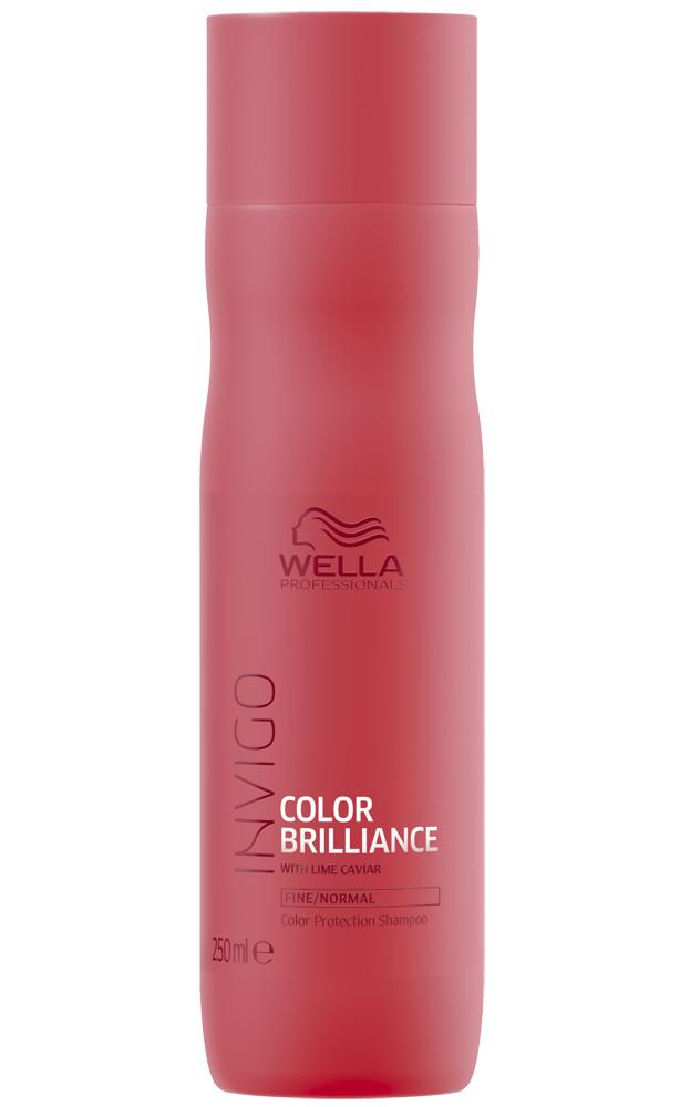 Купить Wella Invigo Color Brilliance Шампунь для окрашенных нормальных и тонких волос 250мл