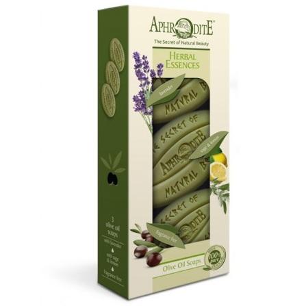 Aphrodite Набор мыла Ароматные травы 3 куска 255 г  - Купить