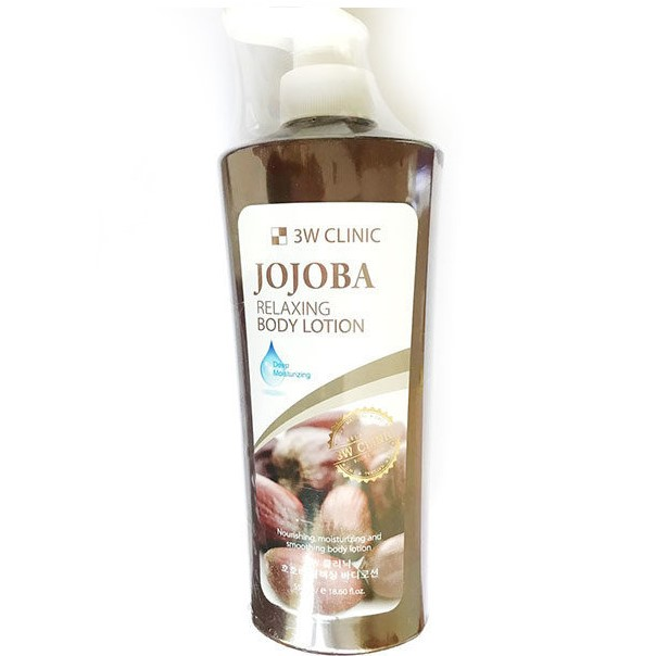 Купить 3W Clinic Лосьон для тела Жожоба Relaxing Body lotion 550мл