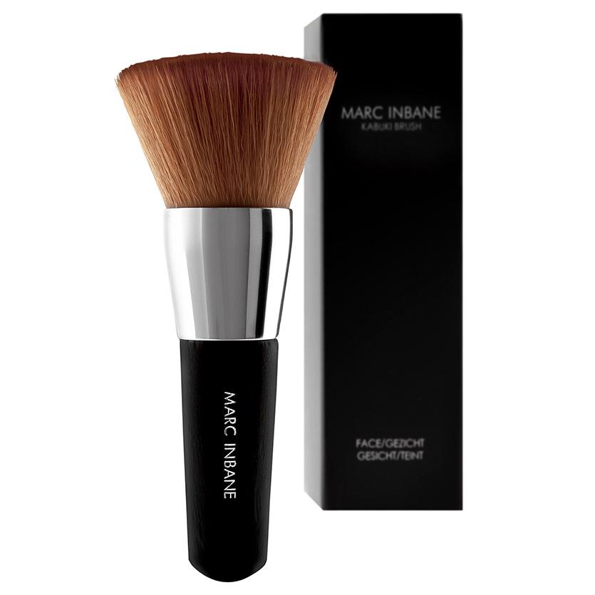 Marc Inbane Кисть Кабуки для равномерного нанесения макияжа и автозагара маленькая 10 см от Лаборатория Здоровья и Красоты