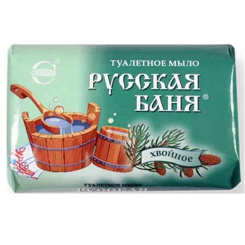 Купить Мыло РУССКАЯ БАНЯ хвойное 100г Свобода