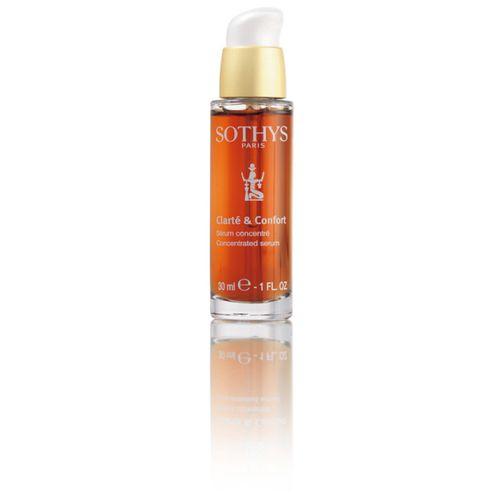 Купить Сотис (Sothys) Clarte&Confort Концентрированная сыворотка для укрепления и защиты 30мл