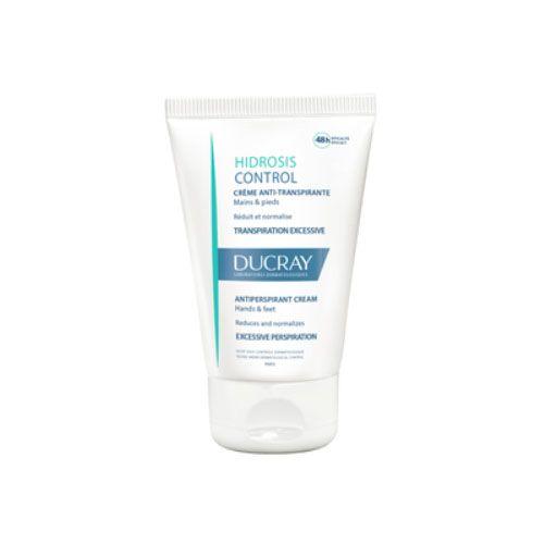 Ducray Hidrosis Control Дезодорант-крем для рук и ног регулирующий избыточное потоотделение 50мл