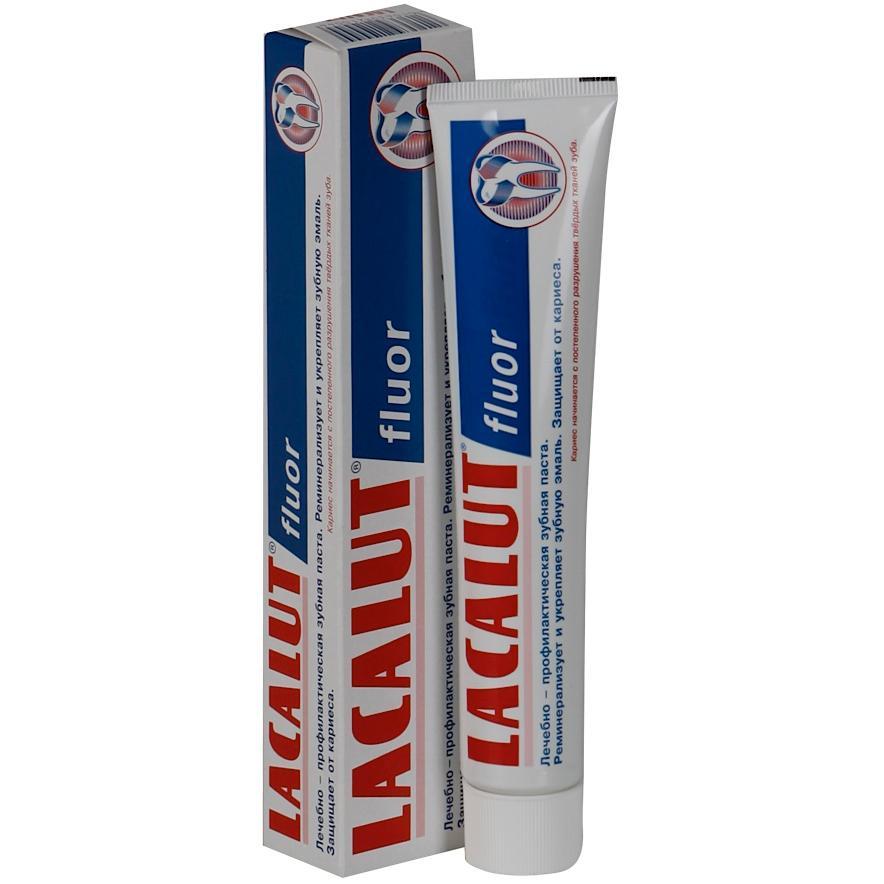 Лакалют зубная паста Флуор 75мл.