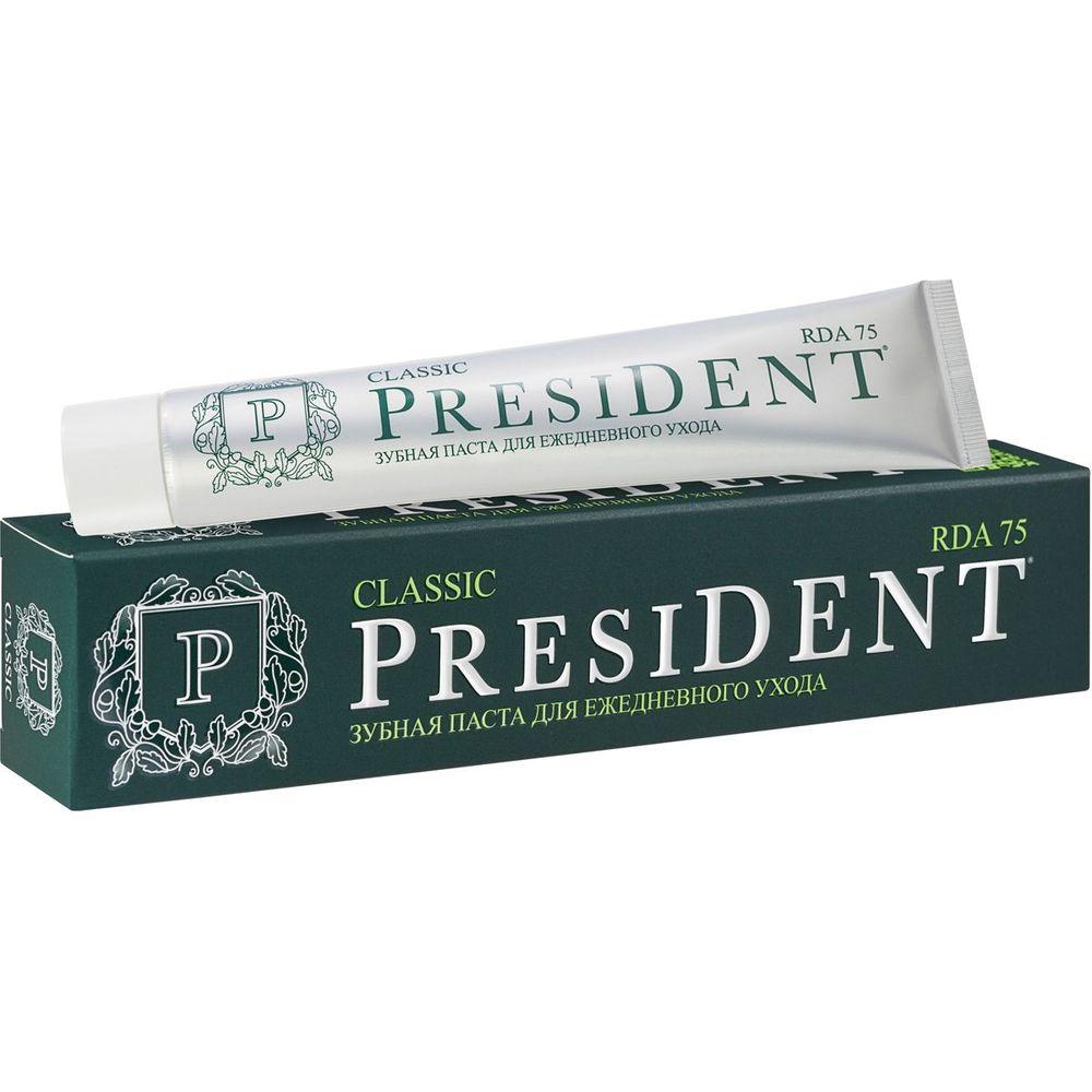 Купить President Classic зубная паста 75мл