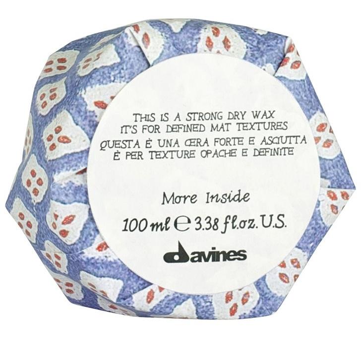 Купить Давинес (Davines) Strong Dry Wax Сухой воск More Inside для текстурных матовых акцентов 75мл