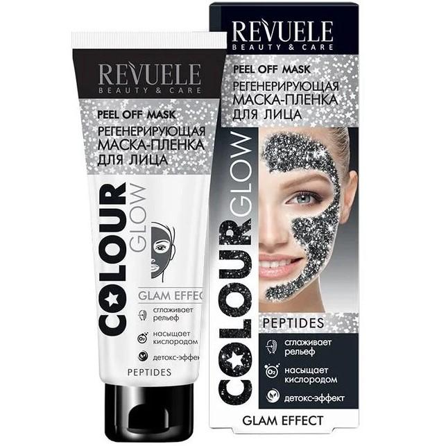 Купить Revuele Маска-пленка для лица регенерирующая Colour Glow 80мл