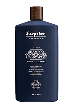 Esquire (эсквайр) средство 3 в 1 шампунь, кондиционер, гель для душа 89 мл
