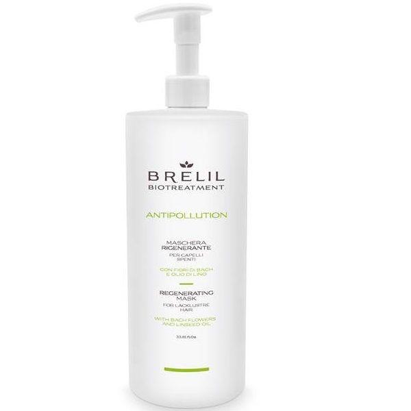 Купить Brelil Biotreatment Antipollution Регенерирующая маска 1000 мл, Brelil professional