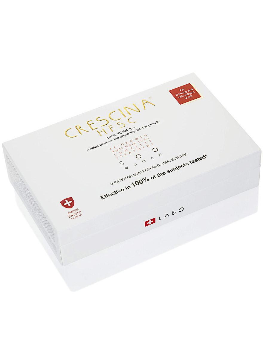 Купить Crescina Комплекс 200 для женщин Лосьон для стимуляции роста волос №10 + Лосьон против выпадения волос №10 3, 5 мл