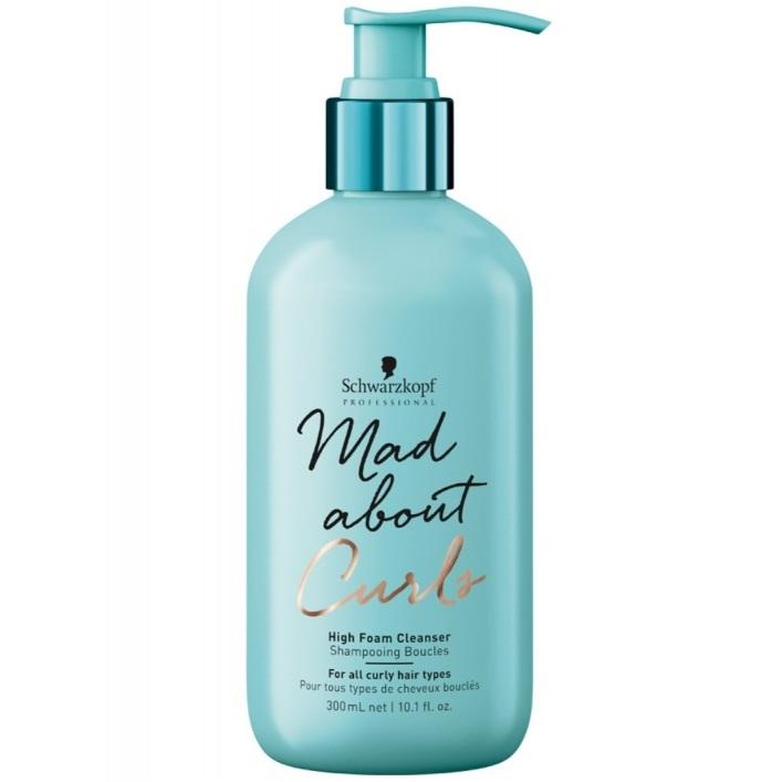 Купить Schwarzkopf Mad About Curls Очищающий крем-шампунь для волос 300мл, Schwarzkopf Professional