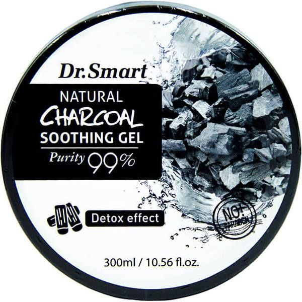 Купить Dr smart Детокс Гель для лица и тела с древесным углем 300мл, Dr.smart