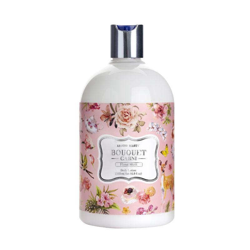Купить Bouquet Garni Body Lotion Floral Musk Лосьон для тела Цветочный мускус 500мл