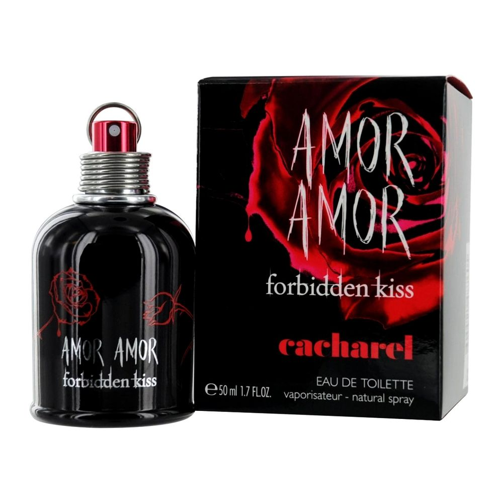 CACHAREL AMOR AMOR FORBIDDEN KISS вода туалетная жен 50 ml