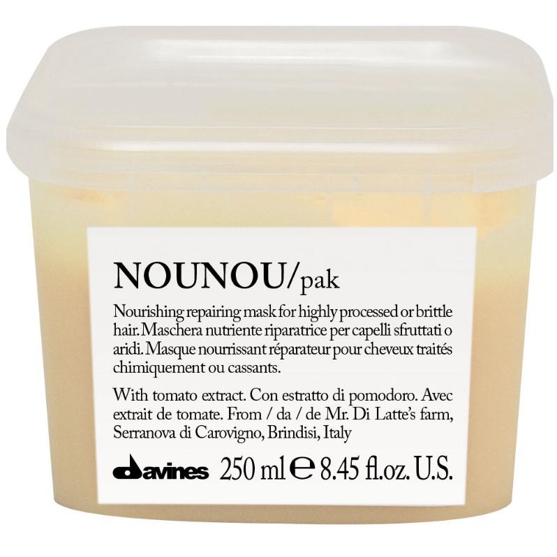 Купить Давинес (Davines) NOUNOU hair mask Интенсивная восстанавливающая маска для глубокого питания волос 250мл