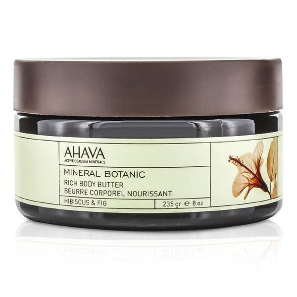 Ахава (Ahava) Mineral Botanic Насыщенное масло для тела гибискус и фига 235г