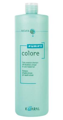 Купить Kaaral Purify Colore Шампунь для окрашенных волос 1000 мл