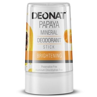 Купить DeoNat Дезодорант кристалл с экстрактом папайи 40г