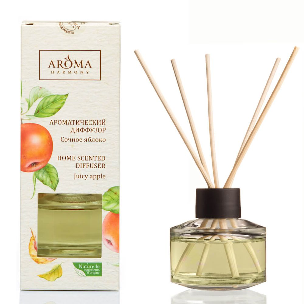 Купить Aroma Harmony Ароматический диффузор Сочное яблоко 50мл