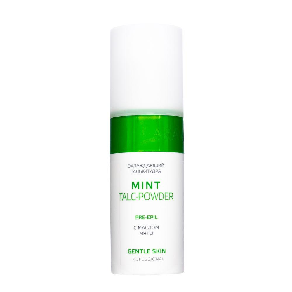 Купить Aravia Охлаждающий тальк-пудра с маслом мяты Mint Talc-Powder 150 мл, Aravia Professional