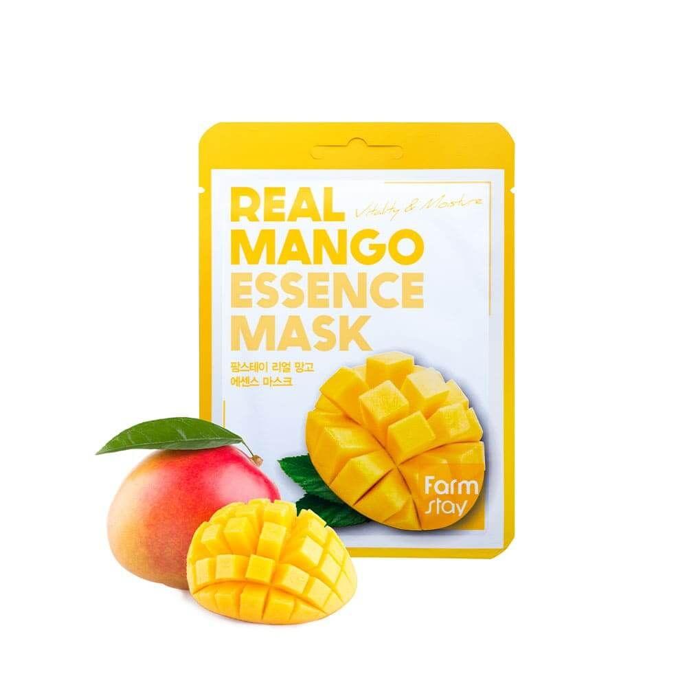 Купить FarmStay Тканевая маска для лица с экстрактом манго 23мл, Farm Stay