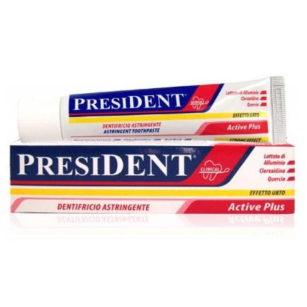 Президент Active plus зубная паста 30мл N1 от Лаборатория Здоровья и Красоты