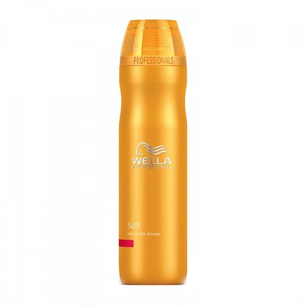 Wella sun шампунь для волос и тела 250мл