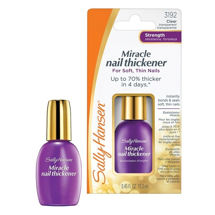 Sally Hansen Nailcare Средство для мягких тонких ногтей miracle nail thickener