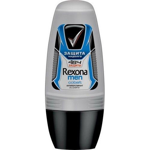 Купить Rexona Антиперспирант део-ролик мужской Кобальт 50мл