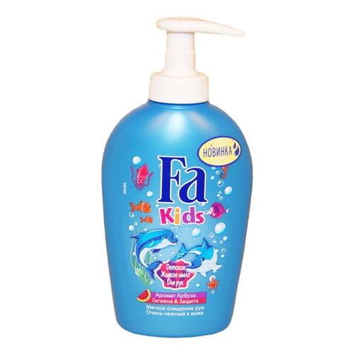 Fa Kids Детское жидкое мыло Гигиена & защита Аромат Арбуза 250 мл  - Купить