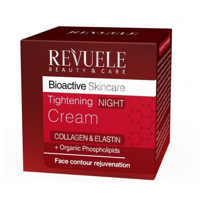 Купить Revuele Bioactive skincare Collagen&Elastin Крем для лица ночной подтягивающий 50мл