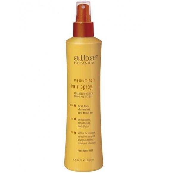 Alba Botanica Лак для волос средней фиксации Medium Hold Hair Spray 273 мл
