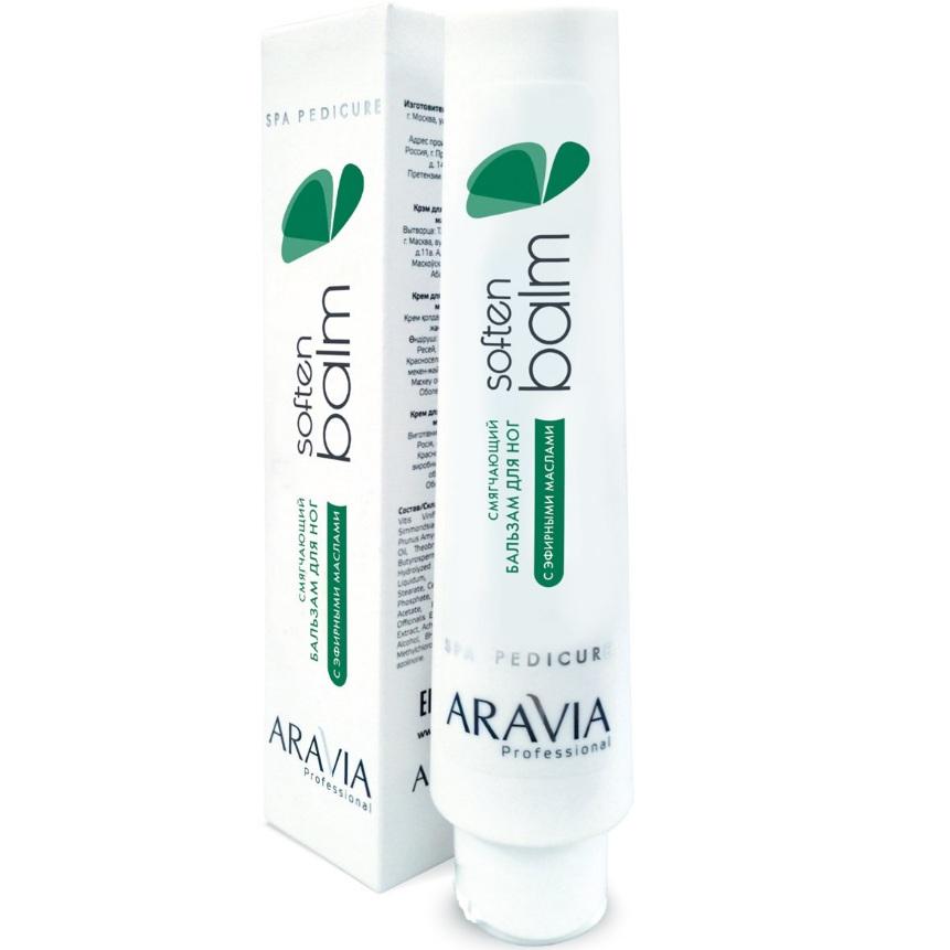 Купить Aravia Смягчающий бальзам для ног с эфирными маслами Soft Balm 100мл, Aravia Professional
