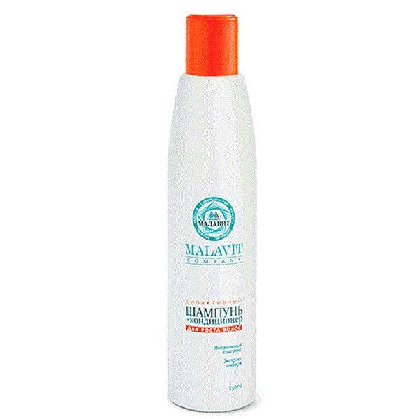 Купить Малавит шампунь-кондиционер биоактивный для роста волос 250мл