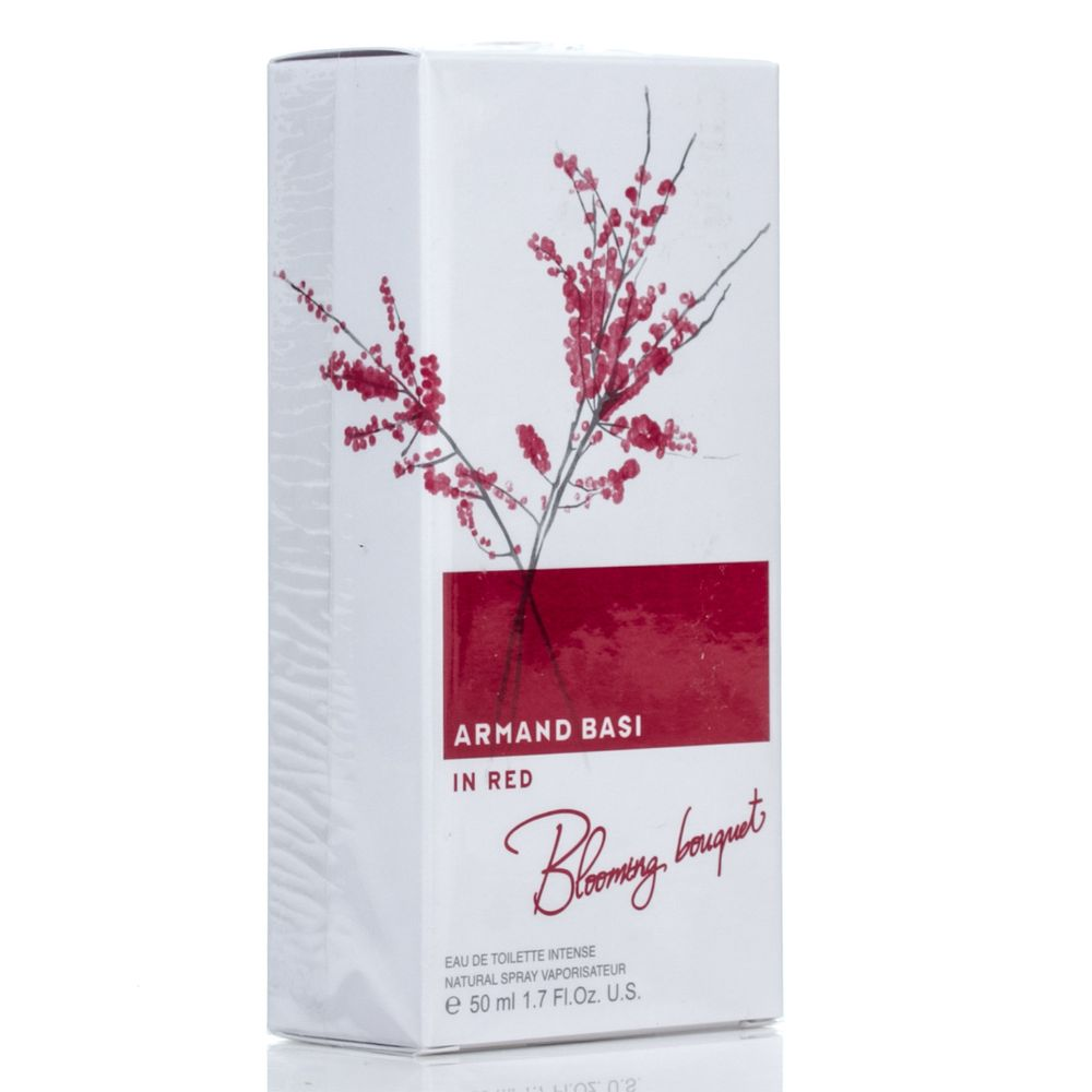 Armand Basi IN RED BLOOMING BOUQUET вода туалетная женская 50 ml