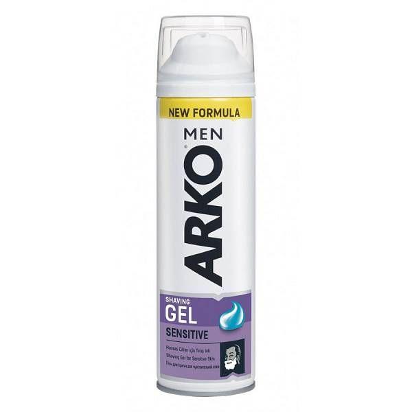Купить Arko MEN Гель для бритья Sensitive 200мл