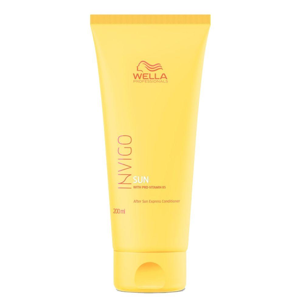 Купить Wella Invigo Sun экспресс-бальзам после пребывания на солнце с провитамином В5 200мл